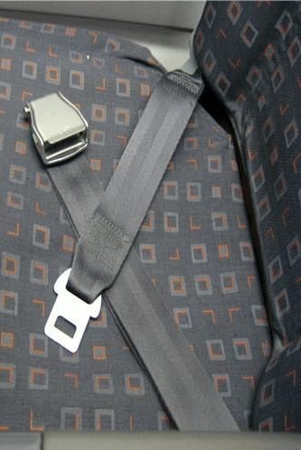 Aircraft Seatbelt Harness Parts