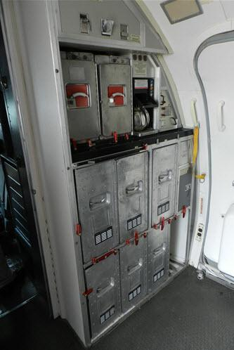 Aircraft Galley Cart Part
